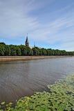 Собор Koenigsberg на острове Kneiphof Стоковые Фотографии RF