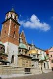 собор krakow Польша королевская Стоковое фото RF