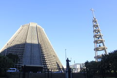 Собор Lapa в Рио-де-Жанейро, Бразилия Стоковые Фото