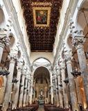 Собор Lecce Стоковые Изображения RF