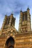 собор lincolnshire Стоковые Изображения RF