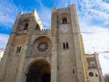 собор lisbon Португалия Стоковая Фотография