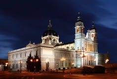 собор madrid Испания стоковые изображения rf