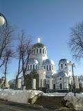 Собор Nevsky, Kamenets-Podolskiy, Украина Стоковые Фотографии RF