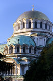 собор nevsky sofia Александра Болгарии Стоковые Фото