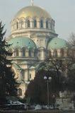 собор nevsky sofia Александра стоковые фото