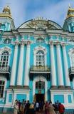 Собор Nikolsky морской, Санкт-Петербург, Россия стоковые изображения