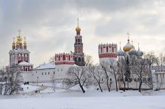 Собор Novodevichy Стоковые Фото