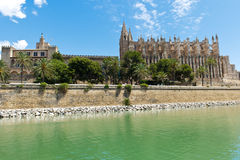 Собор Palma de Мальорка Стоковое Изображение RF