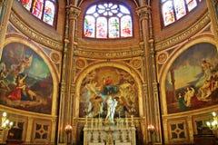 собор paris Стоковое Изображение