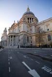 Собор Pauls святой, Лондон, Англия стоковое изображение rf