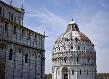 собор pisa baptistery Стоковые Фотографии RF