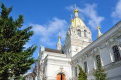 Собор Pokrovsky в Севастополе на улице Bolshaya Morskaya Стоковое Изображение RF