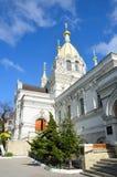 Собор Pokrovsky в Севастополе на улице Bolshaya Morskaya Стоковое Изображение