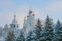 Собор Pokrovsky в Харькове Украина Стоковые Изображения
