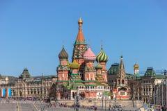 собор pokrovsky Стоковая Фотография