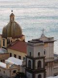 Собор Positano Стоковое Изображение RF