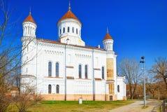 Собор Prechistensky - правоверный собор в Вильнюсе размещено стоковые изображения rf