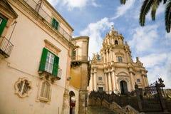 собор ragusa Сицилия Стоковые Изображения