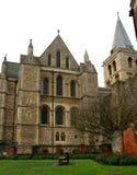 Собор Rochester, Англия Великобритания Стоковые Изображения