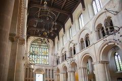 Собор Rochester Англия во-вторых самая старая, основываемый в 604AD Стоковая Фотография