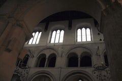 Собор Rochester внутрь Англия Великобритания Стоковое Изображение