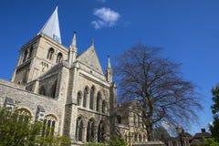 Собор Rochester в Кенте Стоковые Фото