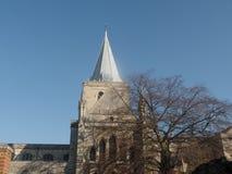 Собор Rochester, Кент, Великобритания стоковое изображение rf