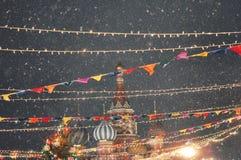 Собор ` s базилика Святого в красной площади Стоковая Фотография RF