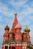 Собор ` s базилика St на красной площади в Москве Стоковые Фотографии RF