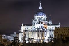 собор s almudena Стоковое Фото