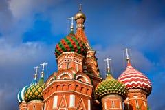 Собор ` s Pokrovsky базилика St в Москве Стоковые Фото