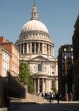 Собор ` s St Paul в городе Лондона, Великобритании Июль 2018 стоковые изображения rf