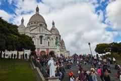 Собор Sacre Coeur Стоковые Фотографии RF