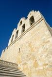 собор Saintes-Maries-de-Ла-Mer, Франция стоковое изображение rf