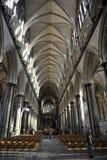 собор salisbury Стоковое Изображение