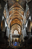 собор salisbury Стоковая Фотография