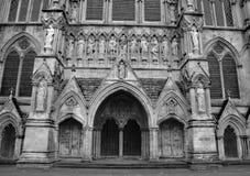 собор salisbury Стоковые Фотографии RF