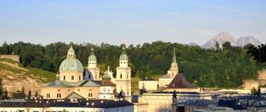 собор salzburg Стоковые Изображения RF