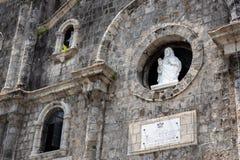 Собор San Sebastian в Bacolod стоковые изображения rf
