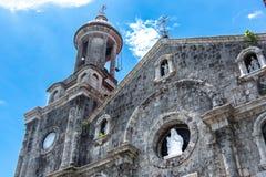 Собор San Sebastian в Bacolod стоковые изображения