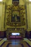 Собор Sant Agata - реликвия стоковое фото