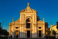 Собор Sant Mary ангелов Италии Стоковое Изображение RF
