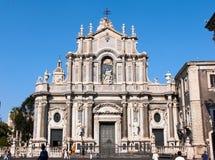 собор santa catania agata стоковая фотография