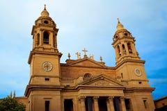 Собор Santa Maria Наварры Памплоны реальный Стоковые Изображения RF