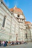 Собор Santa Maria del Fiore в Флоренсе Стоковые Изображения