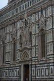 Собор Santa Maria del Fiore и баптистерего St JohnBa Стоковое Изображение