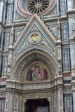 Собор Santa Maria del Fiore и баптистерего St JohnBa Стоковые Фотографии RF