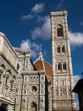 Собор Santa Maria del Fiore и колокольня Стоковое фото RF