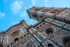 Собор Santa Maria del Fiore: Самоцвет Флоренса архитектурноакустический Стоковые Изображения